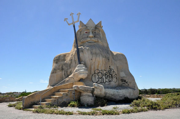 King Neptune from Atlantis Marine Park